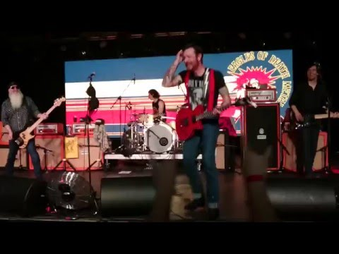 Eagles of Death Metal - Wanna be in LA live @ Akvárium, Budapest, Hungary 2016.02.20