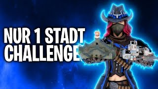 NUR 1 STADT LOOTEN CHALLENGE! 🏰🤢 | Fortnite: Battle Royale
