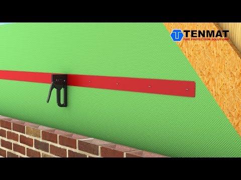 Cavity Fire Barrier on a Roll - TENMAT