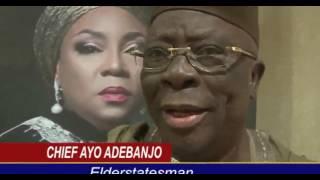 SENATOR GBENGA  ASHAFA SERENADES WIFE LADY FOLASHADE ASHAFA INTO THE DIAMOND AGE