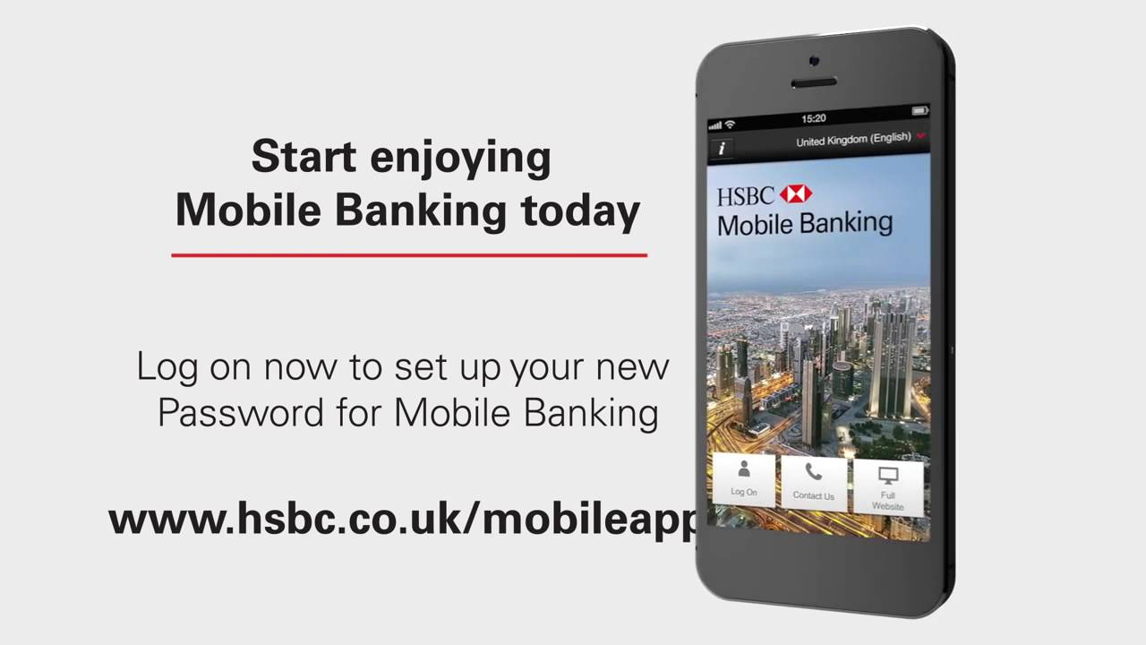 HSBC Mobile Banking App How to Register