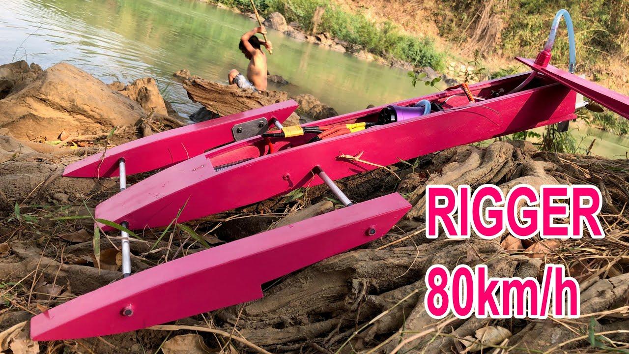 Hướng dẫn lắp kit cano rigger tự chế với tốc độ 80km/h