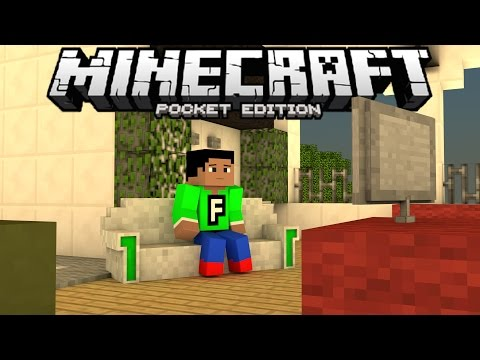 MORE FURNITURE in MCPE!!! - 0.13.1 Furniture Mod - Minecraft PE (Pocket Edition)