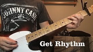 Get Rhythm by Johnny Cash - Luther Perkins Instrumental