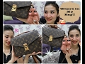 What's In My Bag Ft LV Pochette Metis    Sonya Tan