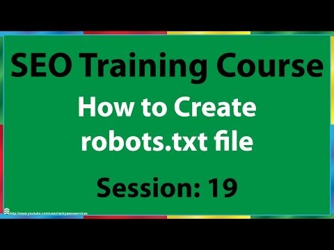 19 How to Create Robots.txt File for Google