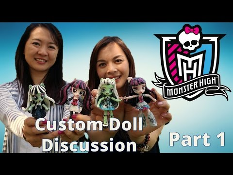Custom Doll Review Part 1: Monster High Dolls with Start With Toys
