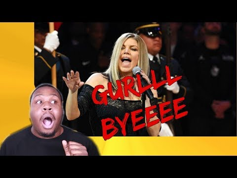 FERGIE NATIONAL ANTHEM REACTION! *GIRL WHAT WAS YOU DOING!!!??*| Zachary Campbell