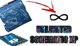 UNLIMITED SCHEMATIC XP? NEW FARM GLITCH!!!! -FORTNITE STW