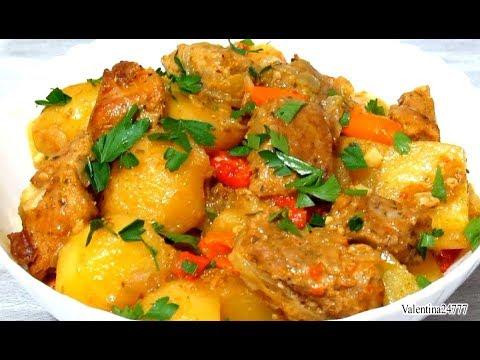 Картофель с Мясом Запеченный в Рукаве  Вкусно Просто без Хлопот Рецепт