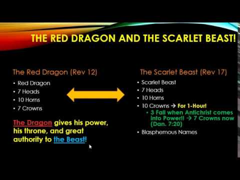 Revelation 12 Signs Explained Moreso --- Dragon, Beast, & Day of the Lord!