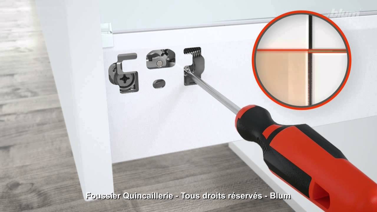 blum tandembox antaro reglage en hauteur youtube. Black Bedroom Furniture Sets. Home Design Ideas