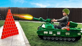 ضابط سينيا يشتري دبابة جديدة