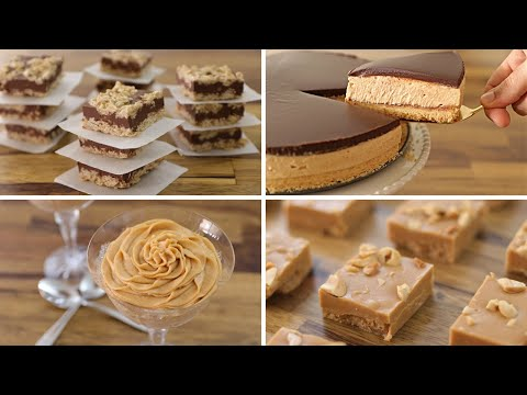 4 Easy No-Bake Peanut Butter Dessert Recipes