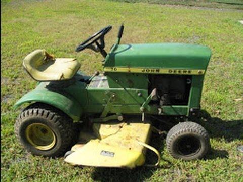Riding Mower Wiring Diagram Ez 21 Circuit Harness 1970? John Deere 70 Lawn Tractor - Youtube