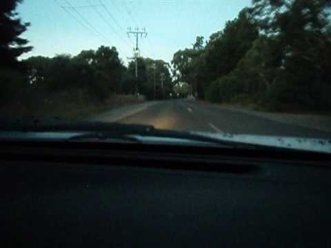 Nissan silvia s13 drive in the Adelaide hills