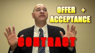 What is a Contract? (Offer + Acceptance)