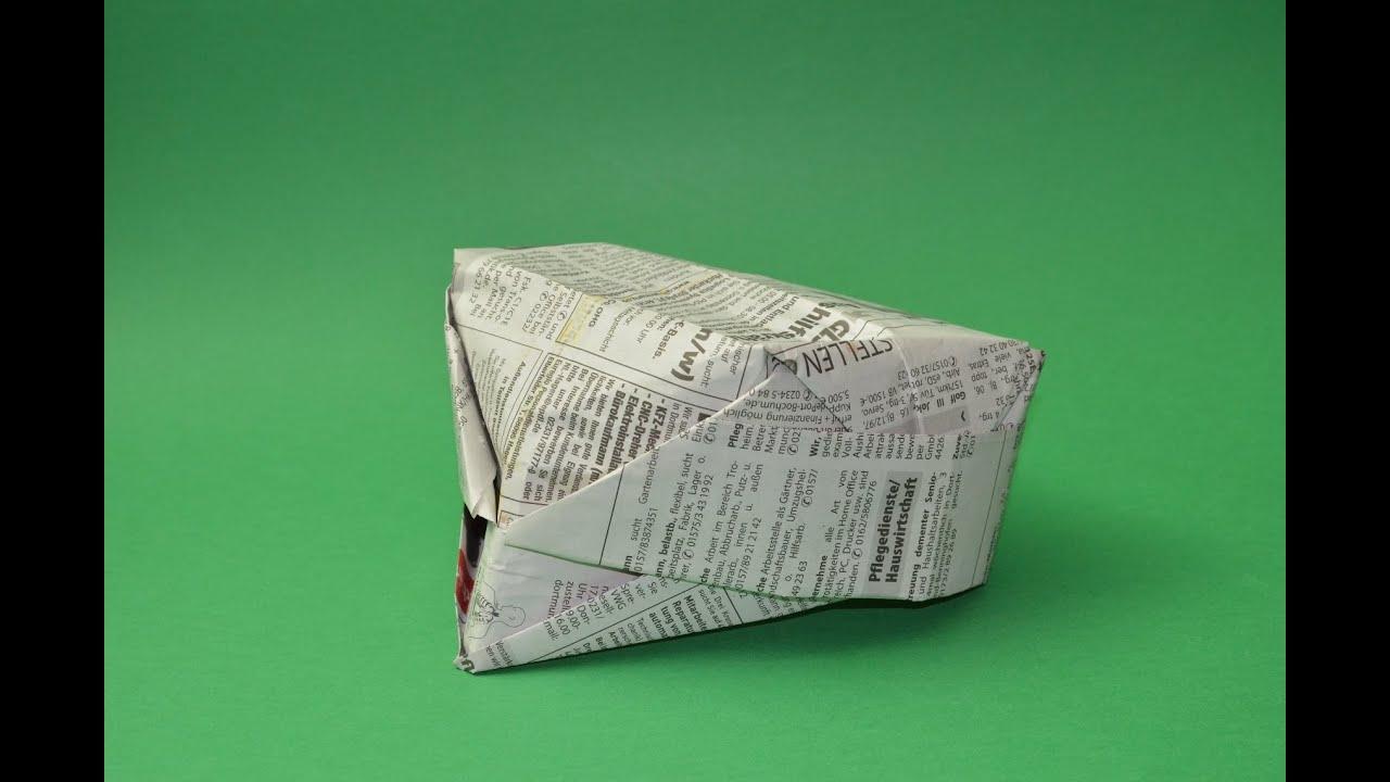 Cómo Hacer Un Sombrero De Papel Usando Origami