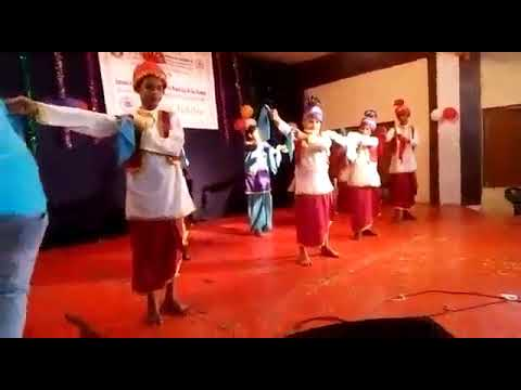 Dance performance by  Visually impaired student.In our institute SRMAB Bangalore..