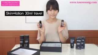 [TOSOWOONG]Mens booster skin+lotion set/150mlx2+30mlx2/whitening+wrinkle/cosmetics Thumbnail