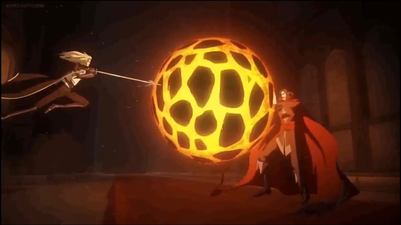 Download Castlevania (Netflix) 2x7 Trevor, Alucard, & Sypha vs Dracula (2/3)