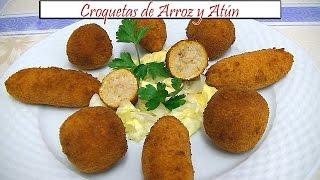 Croquetas de Arroz y Atún | Receta de Cocina en Familia