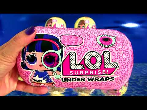 Color Changing LOL Doll Surprise Under Wraps Toy review