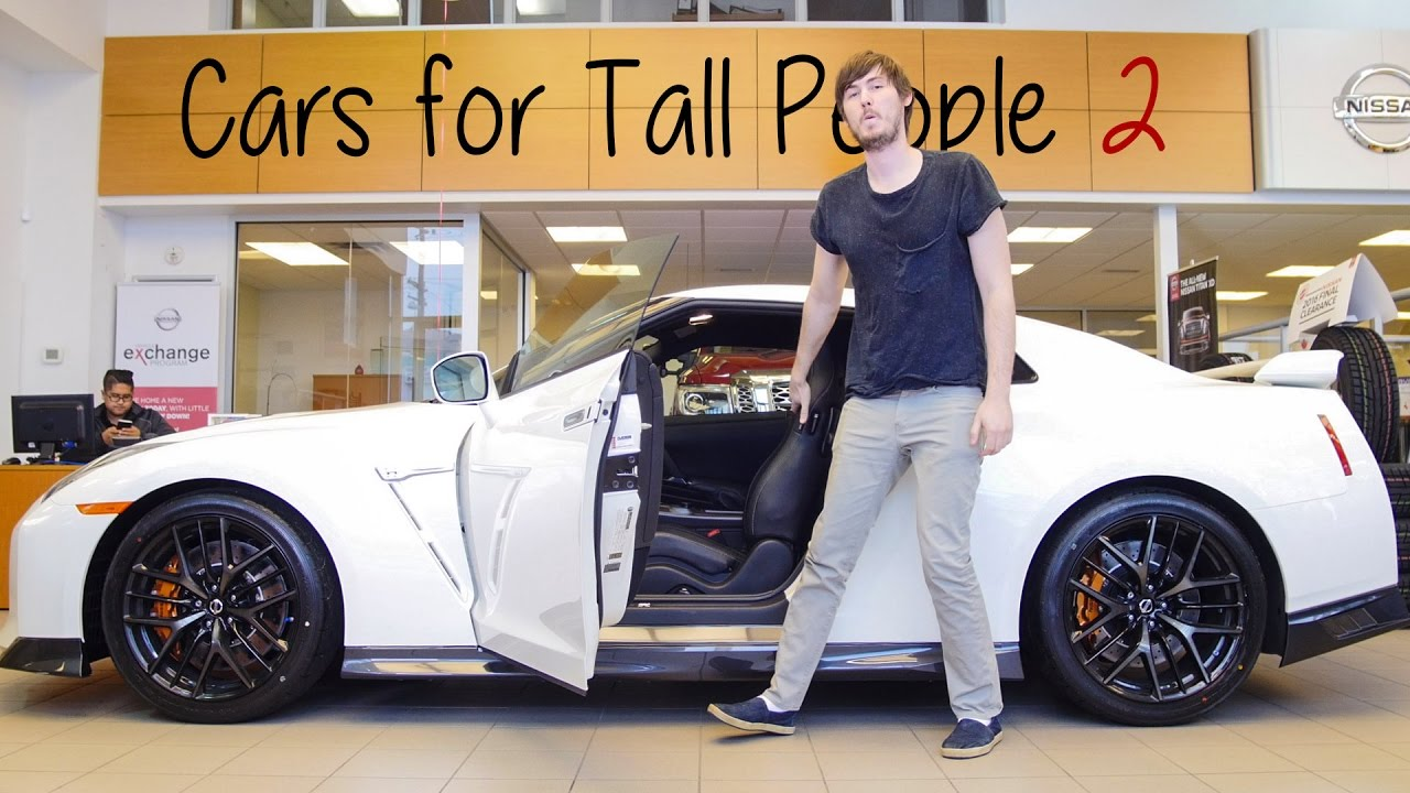 Cars For Tall People YouTube - Sports cars for tall guys