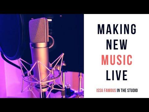 Making Hiphop Instrumentals In the Studio Episode #4