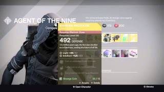 destiny xur agent of the nine location 7 24 15