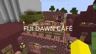 Tour of the Fiji Dawn Café in Minecraft