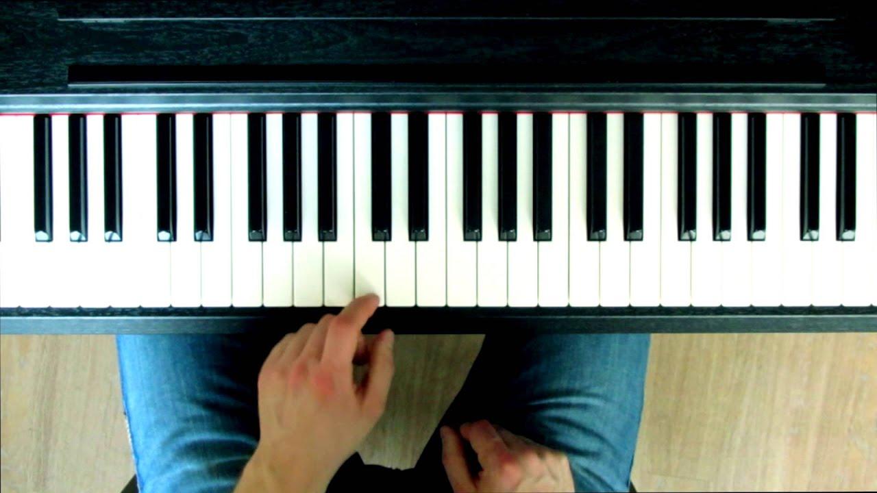 klavier lernen einfache popballade auf dem klavier spielen anf nger song piano tutorial. Black Bedroom Furniture Sets. Home Design Ideas