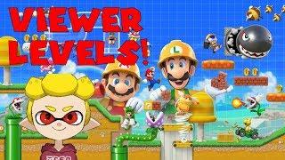 Super Mario Maker 2 VIEWERS LEVELS! !add XXX-XXX-XXX #SuperMarioMaker2 #NintendoSwitch