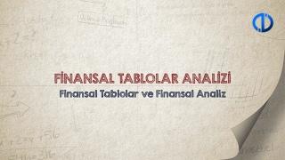 FİNANSAL TABLOLAR ANALİZİ - Ünite 1 Konu Anlatımı 1