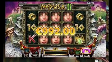 Medusa II Slot - €5 Bet - Big Win - Nextgen Gaming
