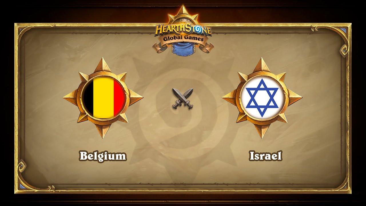 Belgium vs Israel, Hearthstone Global Games Phase 2