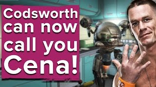 Here's a look at some of the new names Codsworth can say in Fallout 4