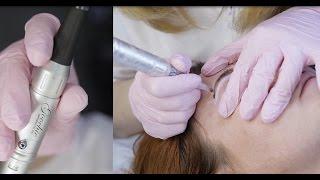 Процедура перманентного макияжа бровей