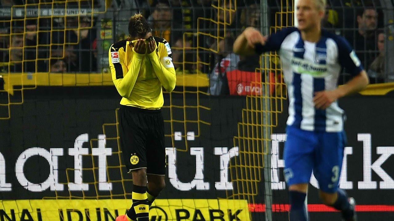 Download Hertha BSC vs Dortmund 2 1All Goals Full HD Highlights 11  03  2017