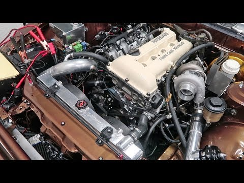 SR20DET RUNS! Then nearly destroys itself...