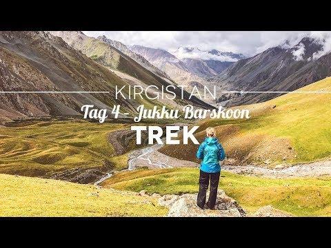 Trekking in Kirgistan – Tag 4 Jukku Barskoon Trek: Regen und ein harter Abstieg