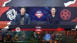 ESL Vietnam Championship S2 - DOTA 2: Breakers vs SoulHunters (Game 1)
