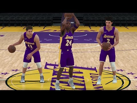 What If Kobe Bryant Played For The Lakers Today? NBA 2K18 Challenge!