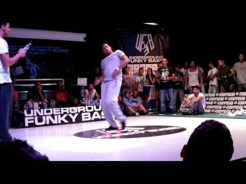 Gipsy Popp vs Nelson (Popping)  UNDERGROUND FUNKY BASE 6.