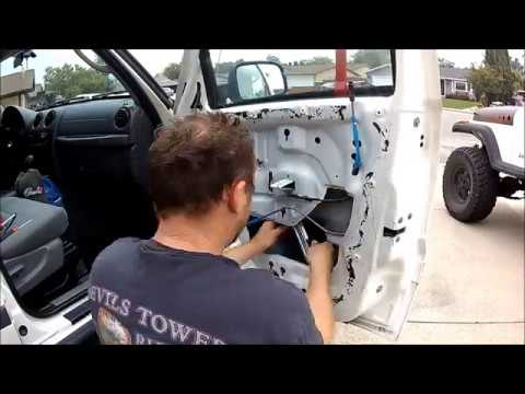 Replacing The Window Regulator On A 07 Jeep Liberty