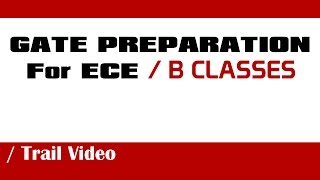 Gate 2015 Preparation Video For Ece