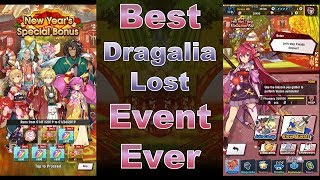Best Dragalia Lost Event Ever - New Year's Tidings: Fortune From Afar
