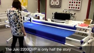 Juki Quilt Virtuoso Pro TL-2200QVP 18