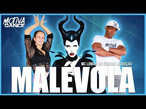 Malévola - MC Loma e as Gêmeas Lacração  Motiva Dance Coreografia