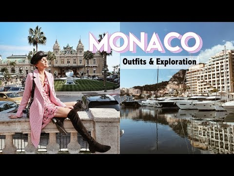 WHAT I WORE & DID IN MONACO WITH MY BOYFRIEND | Blaise Dyer